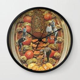 Food preparation Wall Clock