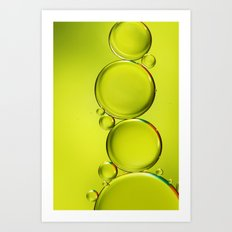Simply Lime II Art Print
