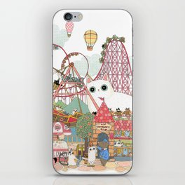 the Day of the rollercoaster iPhone Skin