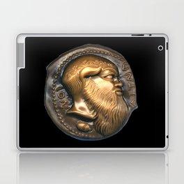 Greek Coin Replica - Satyr Laptop & iPad Skin