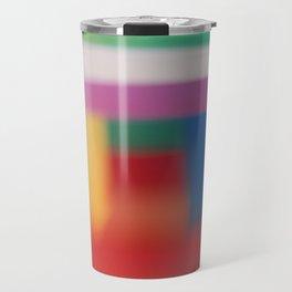 Colored blur background 3 Travel Mug