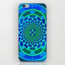 Shield of Blue iPhone Skin