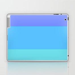 LightBlue gradations Laptop & iPad Skin