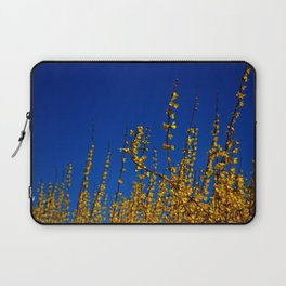 blue and yellow Laptop Sleeve