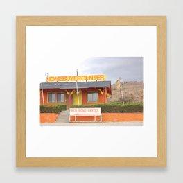 Home buyer center Framed Art Print