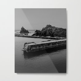 Sutro Baths Ruins Metal Print