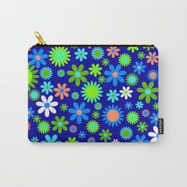 Happy Hippie Flowers Carry-All Pouch