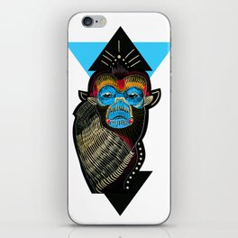 Color me Monkey iPhone Skin
