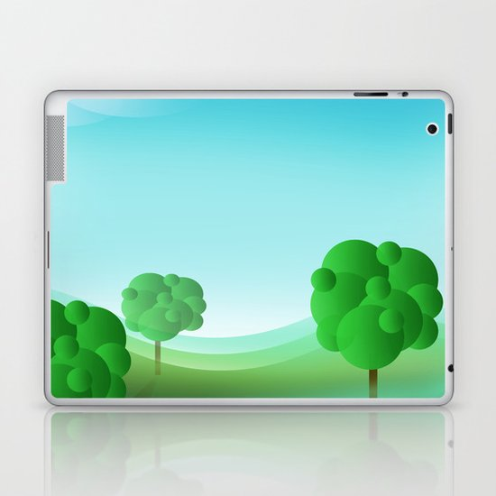 apples and oranges to come Laptop & iPad Skin
