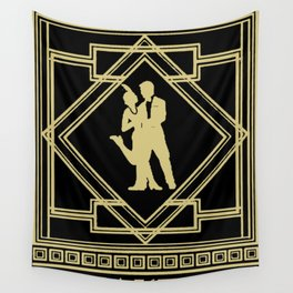 Speakeasy Wall Tapestry