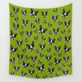 Milo The Boston Terrier #2 Wall Tapestry