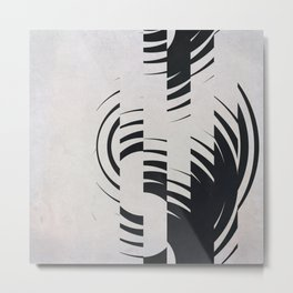 Broken Circles Metal Print