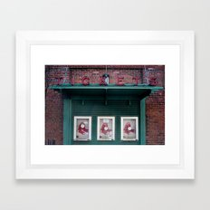 TIckets Framed Art Print