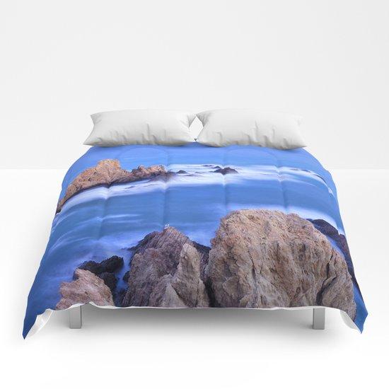 """""""Sirenas azules. Blue mermaids"""" Comforters"""