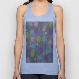 Pastel Bubbles Abstract Unisex Tank Top
