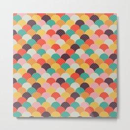 geometic bows Metal Print