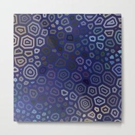 Experimental pattern 44 Metal Print