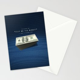 Show Me The Money - USD on Jeans Stationery Cards