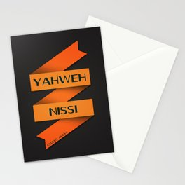 YAHWEH NISSI  Stationery Cards