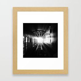 """""""oh god, my chance has come at last"""" Framed Art Print"""