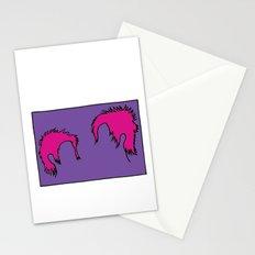 Punk Hair Stationery Cards