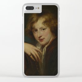 Anthony Van Dyck - Portrait Of The Artist Clear iPhone Case
