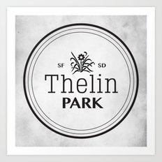 Thelin Park Art Print