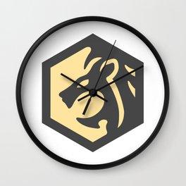 LeonDesign Logo Wall Clock