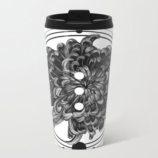 Elliptical III Metal Travel Mug