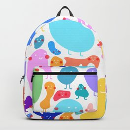 Bacterial world Backpack