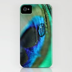Water Drop on a Feather Slim Case iPhone (4, 4s)
