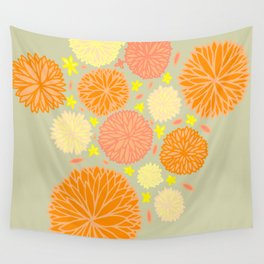 autumn mums Wall Tapestry