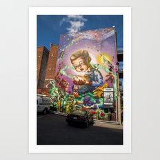 Imagination Mural Streetart Art Print