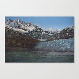 Glacier Bay Awakening Canvas Print