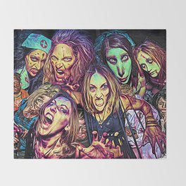 Spooky Halloween I Throw Blanket