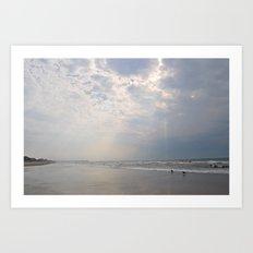 Cloudsplit Art Print