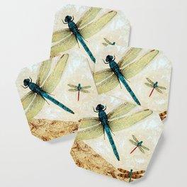 Zen Flight - Dragonfly Art By Sharon Cummings Coaster