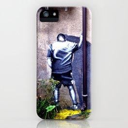 In the corner iPhone Case