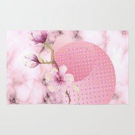 Marble pink Rug