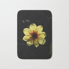 Yellow wind rose Bath Mat