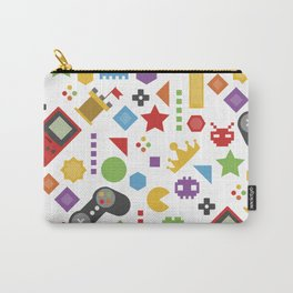 video game pattern Carry-All Pouch