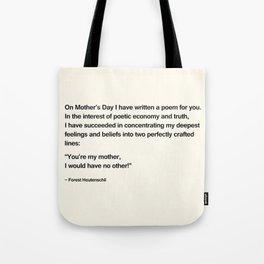 Mothers Day V Tote Bag