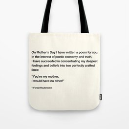 Mothers Day V Tote Bag