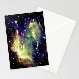 Nebula Galaxy (deep pastels) Stationery Cards