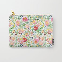 Ditsy Meadow Carry-All Pouch