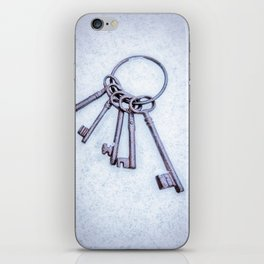Rusty Keys iPhone Skin
