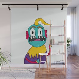 Fitz the Monster Wall Mural
