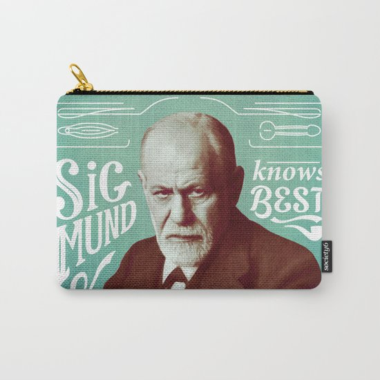 Sigmund Knows Best Carry-All Pouch