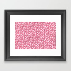 Control Your Game - Honeysuckle Framed Art Print