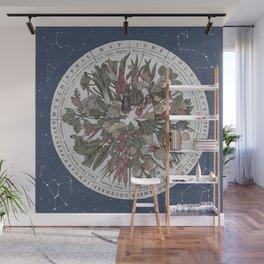 Seasonal Planting Calendar Wall Mural